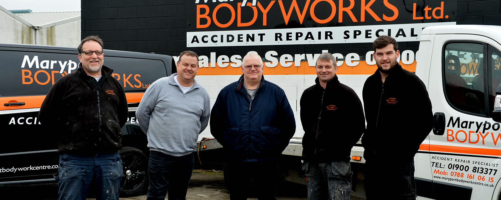 The Team at Maryport Bodyworks Ltd